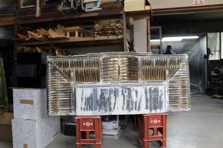 伝統工芸品に指定されている三河仏壇組合の工場を見学してきた[愛知県新城市作手] (10)