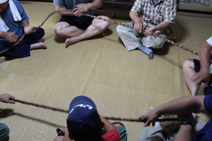 愛知県新城市の作手菅守地区で「百万遍念仏」を唱えて無病息災を願いました! (3)