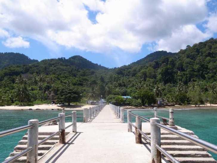 [マレーシア旅行記]7.ティオマン島の安宿注意!最悪のバンガローで地獄の夜 (2)