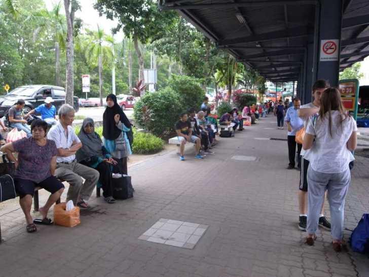[マレーシア旅行記]6.メルシン行きのバスで出会ったイスラム教のかわいい女の子 (7)
