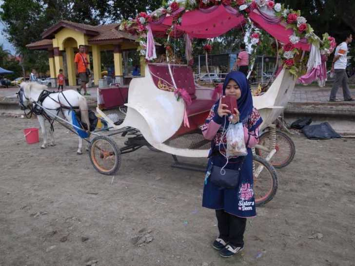 [マレーシア旅行記]6.メルシン行きのバスで出会ったイスラム教のかわいい女の子 (12)