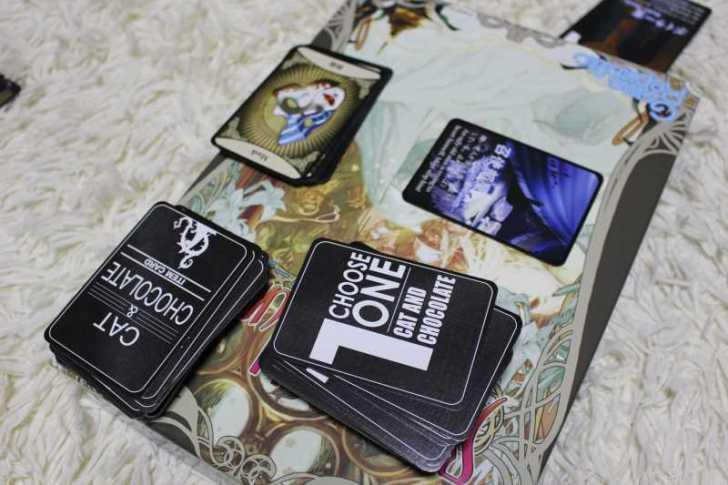 キャット&チョコレート:おすすめの面白いボードゲームレビュー (2)