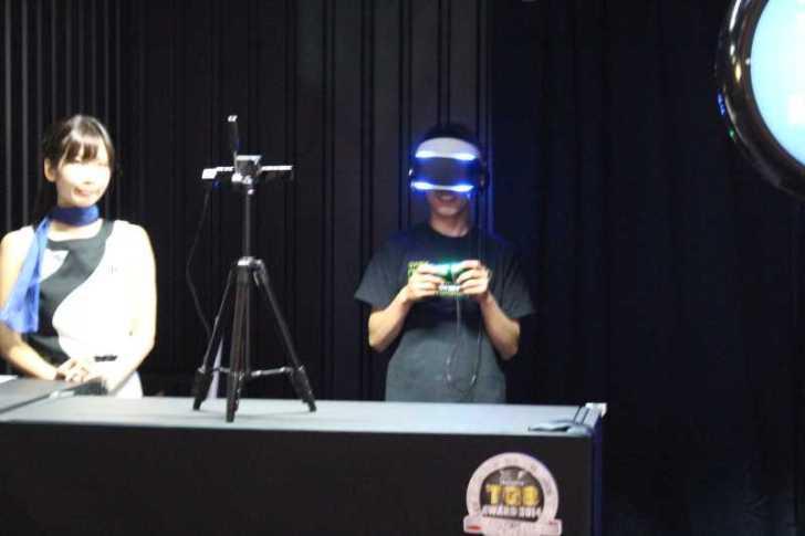今回の目玉はソニーのヘッドマウントディスプレイ「Project Morpheus」