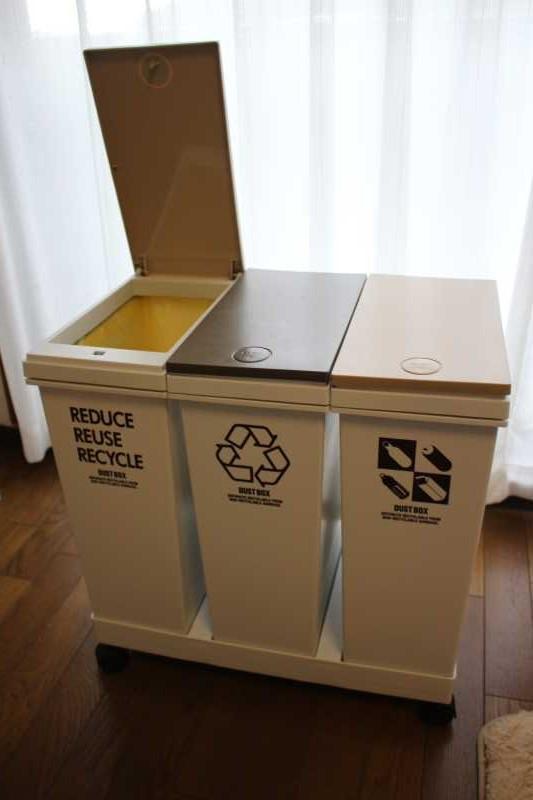 アスベルの移動式ゴミ箱がおしゃれで使いやすくておすすめ!(レビュー) (1)