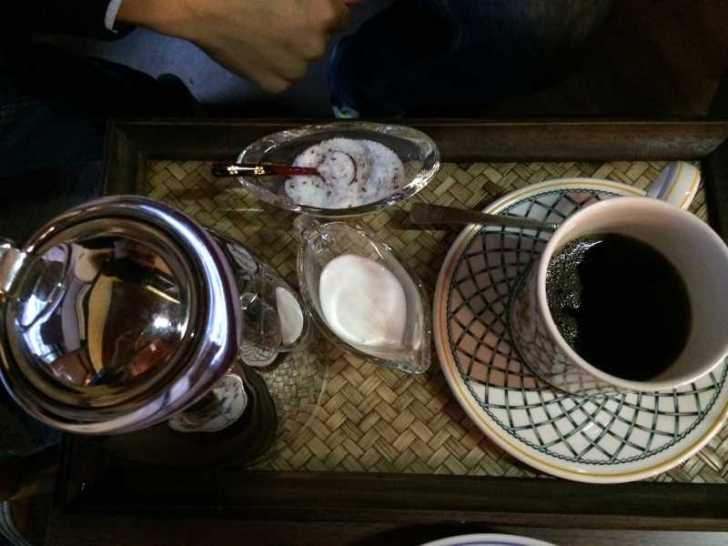 maruya(まるや)コーヒー、季節のタルト、ほうじ茶プリン、八宝茶 (3)