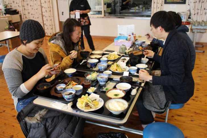 つくで田舎レストランすがもりで冬季限定の自然薯定食と猪鍋定食を食べてきたよ (11)