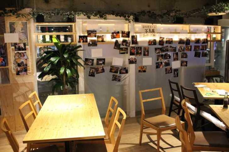 東海高校55回卒の同窓会にて自転車世界一周写真展とマグロの解体ショー! (5)