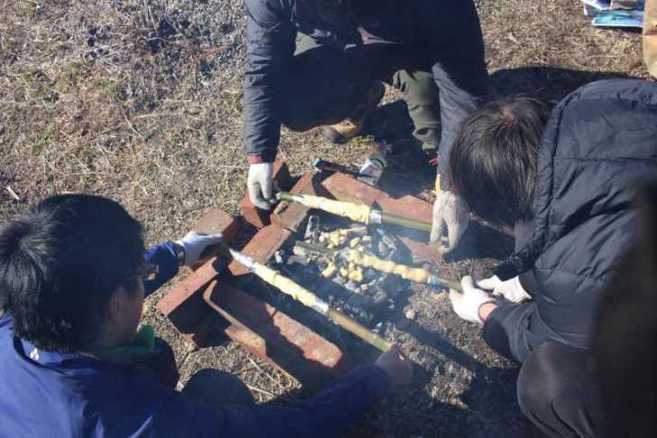 炭火手作りバームクーヘンをリベンジ!ついでに鹿肉も猪肉も喰ったった!! (11)