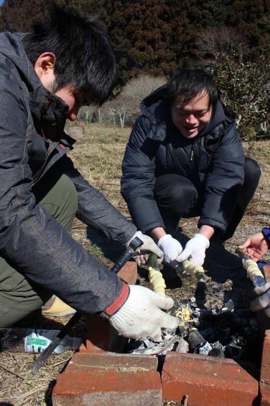 炭火手作りバームクーヘンをリベンジ!ついでに鹿肉も猪肉も喰ったった!! (12)
