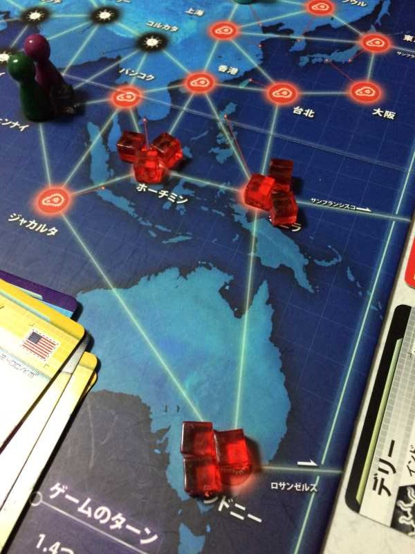 プレイヤー同士が戦うのではなく、全員で協力するボードゲーム「パンデミック新たなる試練 日本語版」 (3)