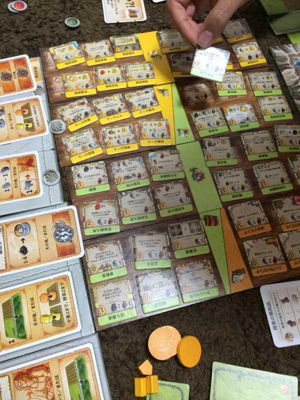アグリコラより面白いと噂のボードゲーム「カヴェルナ 洞窟の農夫たち」をプレイしてきたよ【レビュー】 (2)