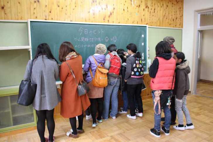 廃校謎解き脱出ゲームで地域おこし!約100名の参加者が愛知県新城市を訪れました!!!! (29)