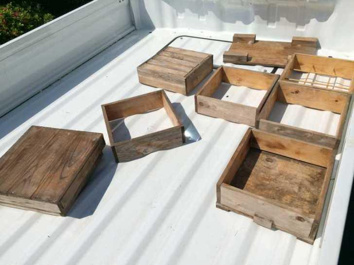 自然養蜂するための蜂の巣箱をもらってきたよ! (1)