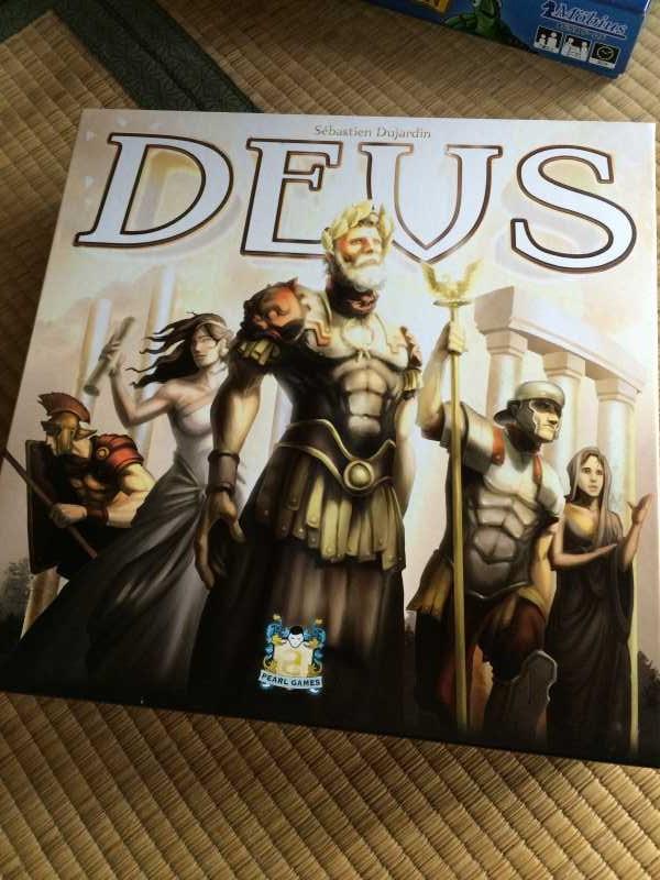 ボードゲーム「デウス (DEUS)」をやったのでレビュー!バランスのとれた良ゲーの予感 (9)