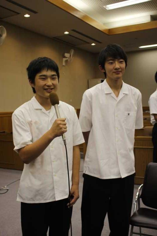 新城市で第一回若者議会が開催!各委員の所信表明+議長が決定しました! (18)