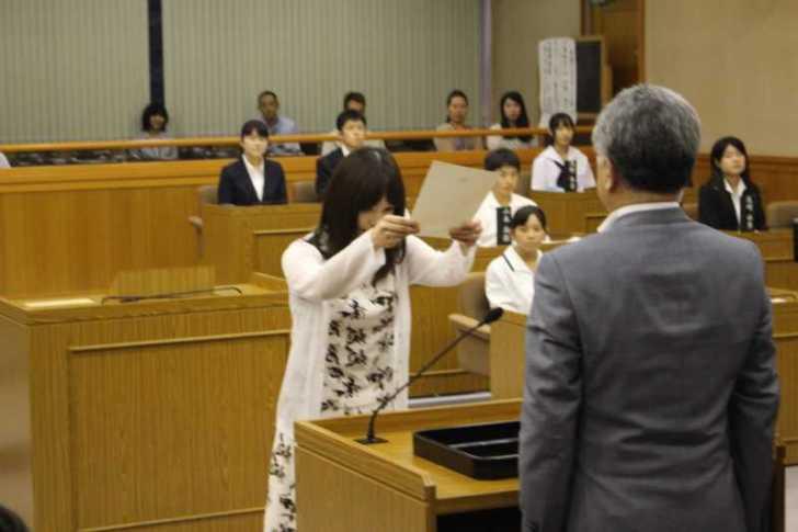 新城市で第一回若者議会が開催!各委員の所信表明+議長が決定しました! (5)
