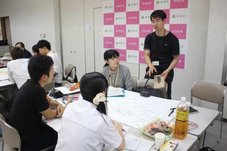 井上貴至さんが若者議会で「政策の作り方」を講演【愛知県新城市】 (2)