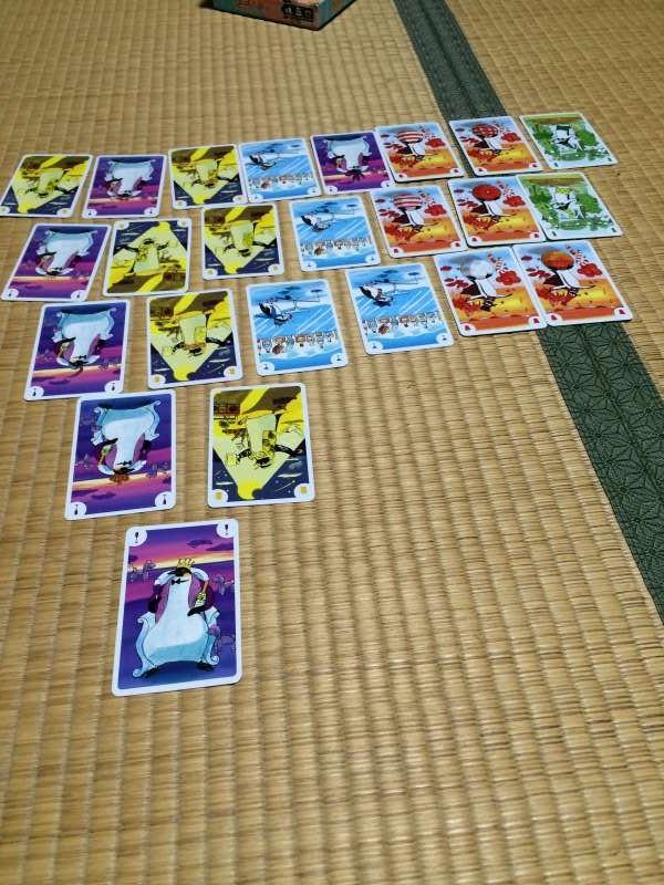 ペンギンパーティーが短時間で簡単に遊べるけどすこぶる面白い【ボードゲームレビュー】 (2)
