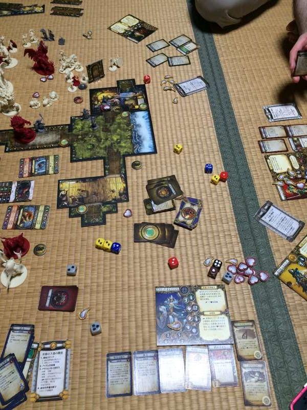 「ディセント(DESCENT)」がTRPG好きにはたまらないボードゲーム!コンポーネントが素敵! (6)