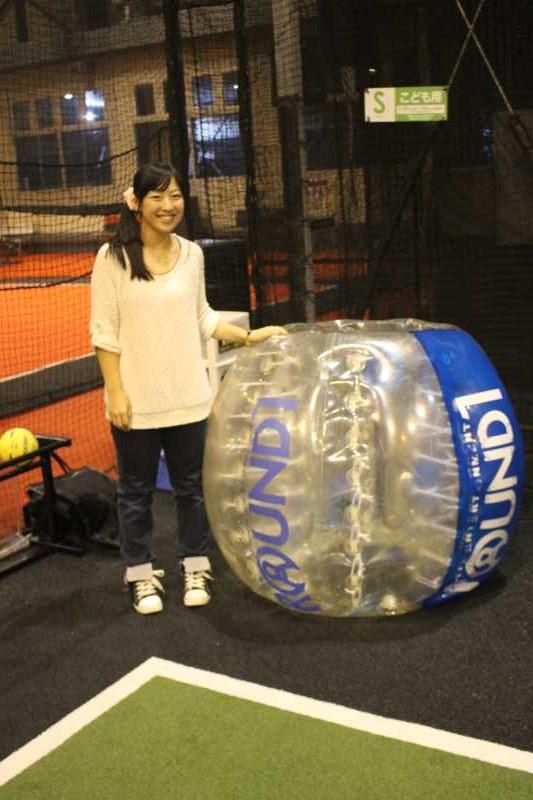 「健康維持にバブルサッカー」若者議会の医療チーム政策が新聞に取り上げられたし、バブルサッカーをやってみた! (4)