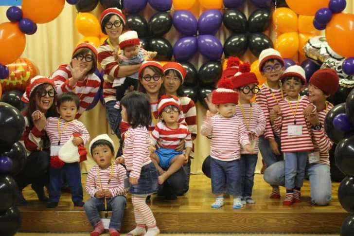 お寺でのハロウィンパーティー開催!仮装しての謎解きが色とりどりで楽しすぎる! (2)