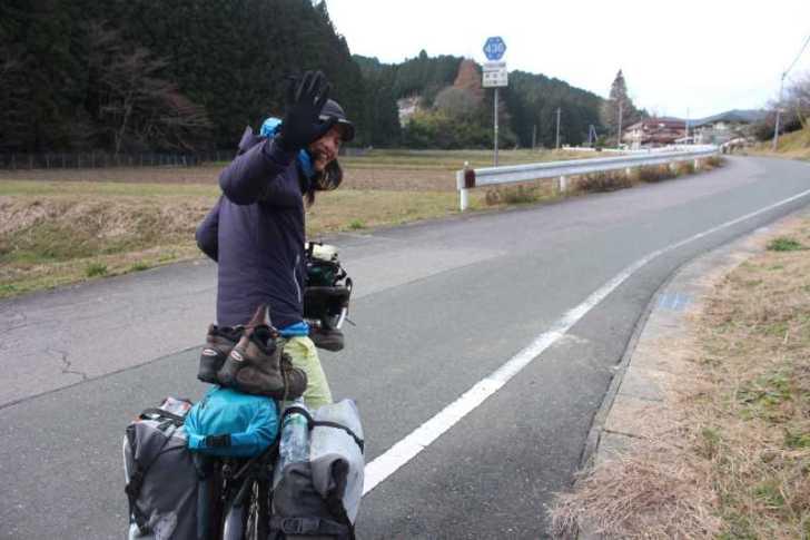4年半かけて世界を自転車で70000㎞以上走った世界一周チャリダー「伊藤篤史」、我が家に現る! (5)