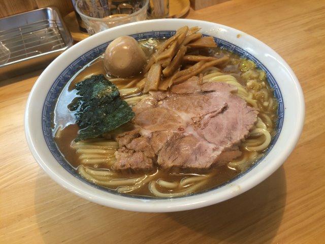 伝説のつけ麺べんてんの弟子の店「自家製中華そば としおか@早稲田」に行ってきたよ! (2)