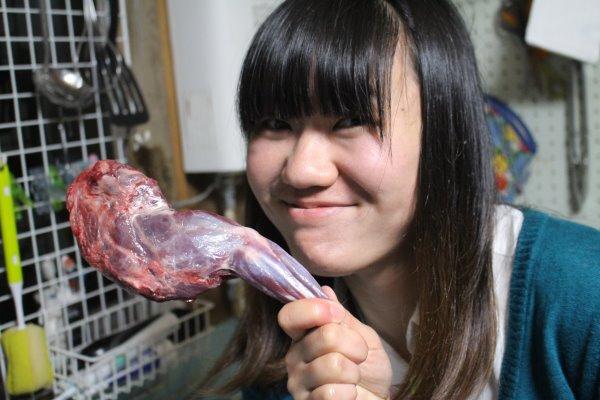 たぬきの肉をはじめて食べた!狸汁とはやはりアナグマなのだろうか? (2)