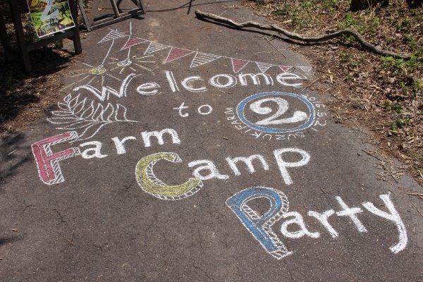 畑に素敵な空間を演出し、採れたて野菜の料理が並ぶファームキャンプパーティーが楽しすぎた! (3)