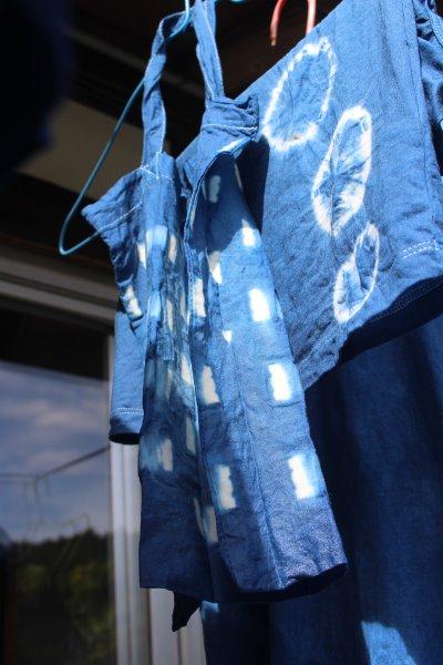 藍染めのワークショップを開催したよ。衣食住の衣のワークショップって珍しいのかも。 (16)