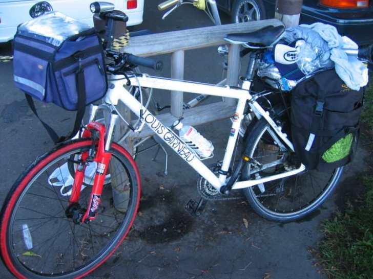 自転車日本一周の持ち物(装備)