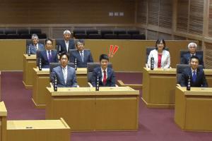 佐野市議会着席