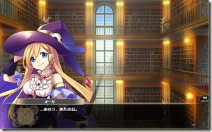 かんぱに☆不思議の図書館_しましまタイツとハートのドレス_02
