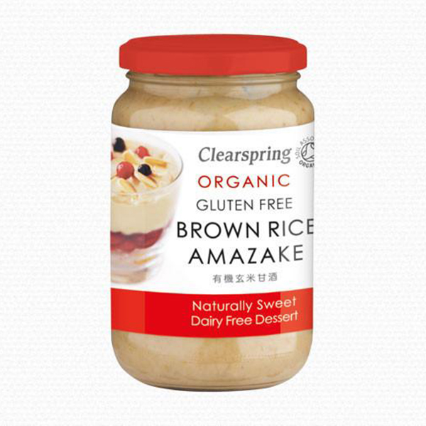 Amazake Clearspring Amazake brown rice