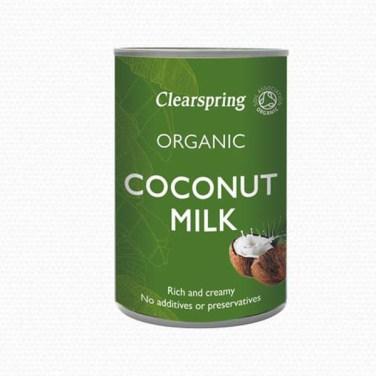 clearspring kokosmelk coconut milk 400ml
