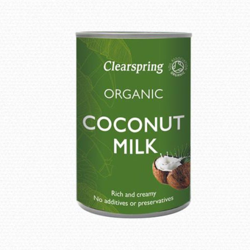 clearspring kokosmelk coconut milk 400ml