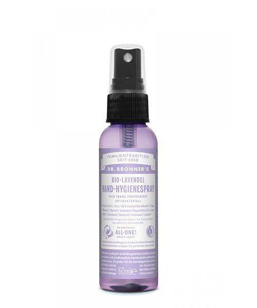 desinfecterende handgel Dr Bronner's Hand Spray Lavender 60ml