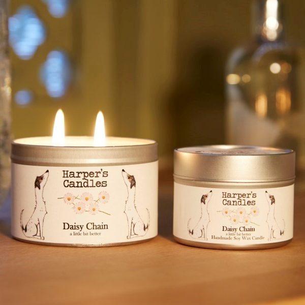 vegan geurkaars Daisy Chain Harper's Candles