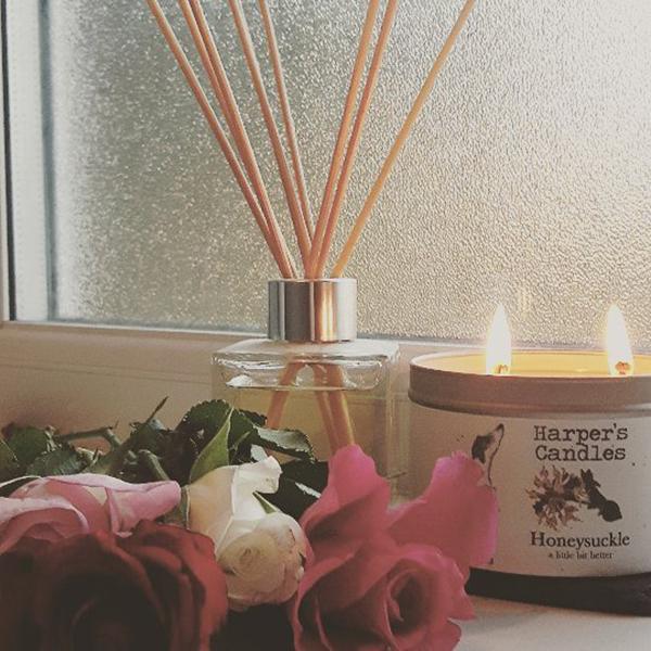 harper's candles geurstokjes karma