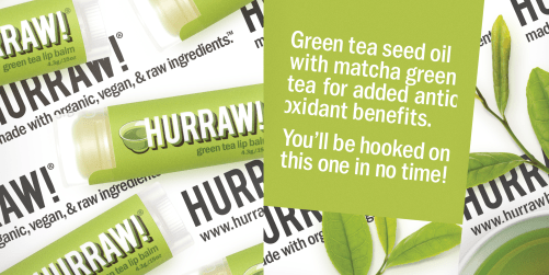 hurraw lip balm green tea ingredienten