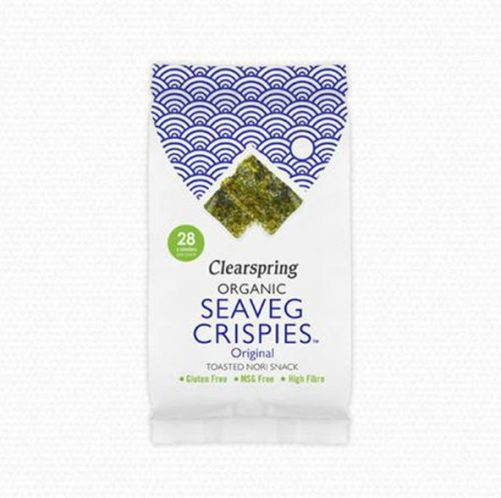 nori zeewier Clearspring Seaveg Crispies natural