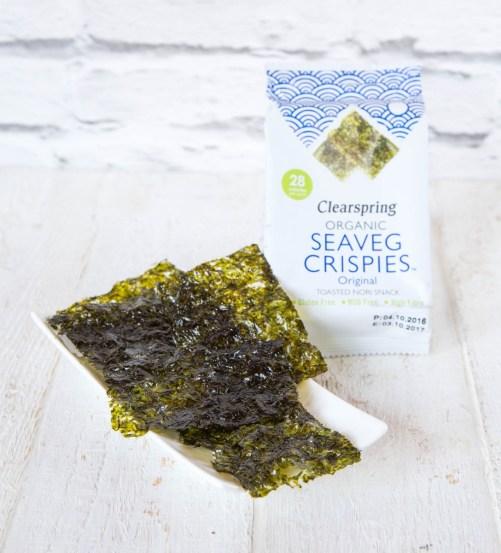 Seaveg Crispies Clearspring original