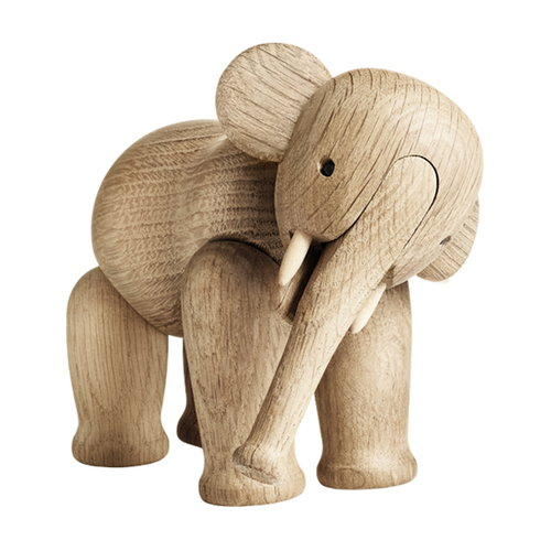 Kay Bojesen Elephant eikenhouten design object