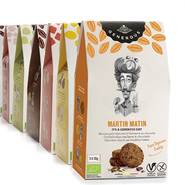 Generouw Martin Matin vegan ontbijtkoekjes