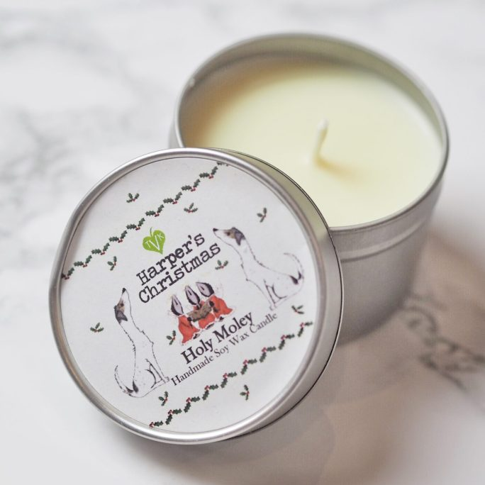 vegan geurkaars Holy Moley Harper's Candles