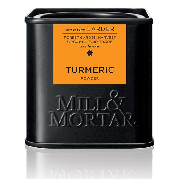 kurkuma van mill & mortar turmeric