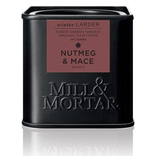 nootmuskaat en foelie van Mill & Mortar