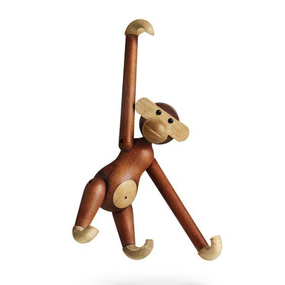 Kay Bojesen Monkey Small duurzaam speelgoed