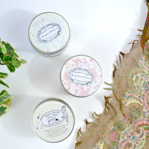 harper's candles snuggly blanket vegan geurkaars