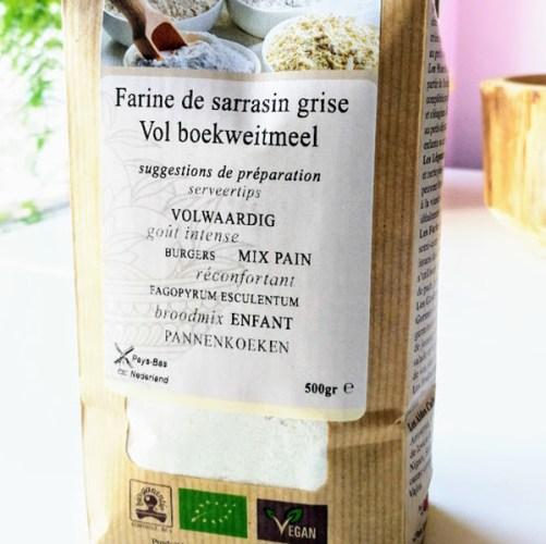 boekweitmel Vajra, volle glutenvrije bloem 500gr